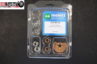 Standard Size Melett 1154-400-755 Turbo Repair Kit (Major) for Cummins Holset Turbo HE451VE