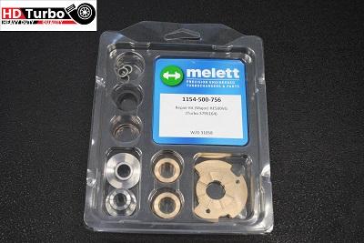 Melett 1154-500-756 Standard Size Turbo Repair Kit (Major) for Cummins Holset Turbo 4309077 4309078 HE561VE