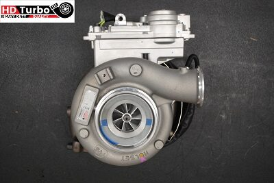 NEW Holset Cummins 4352378 RX Turbo Turbocharger with VGT Actuator HE341VE