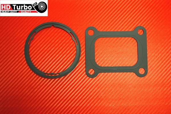 Turbocharger mounting gasket kit for Volvo Mack Holset model HE400VG HE431VE HE451VE